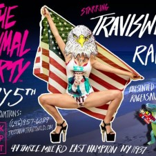 Live from 'The Animal Party' @ Pink Elephant – East Hampton 7.5.13