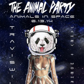 """THE ANIMAL PARTY – """"Animals in Space"""" feat. TRAVISWILD, JAKEY & MOEHRKE"""