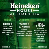 Coachella @ Heineken House [Indio]