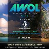 AWOL Sun feat. TRAVISWILD [Tulum]