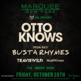 Otto Knows + TRAVISWILD Halloween @ MARQUEE NYC