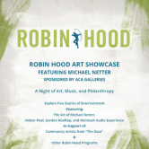 Robin Hood Spring Art Party feat. Travis Wild [NYC]